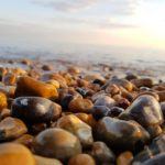 Stones on Brighton beach 02