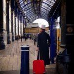 Man in top hat in Brighton