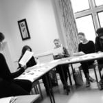 black and white class at loxdale