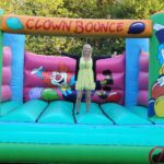 Students social activities Bouncy castle