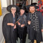 3 Teachers dressed as wizards/witches