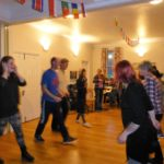 Enjoy a traditional barn dance
