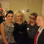 fun dressing up for a murder mystery at Loxdale