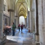 40+ group at Chichester cathedral