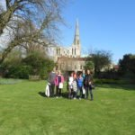 40+ group outside chichester cathedral 02