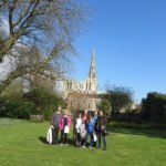 40+ group outside chichester cathedral 03