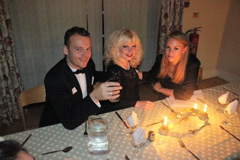 people at the Murder mystery dinner