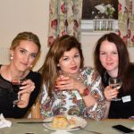 More students at the murder mystery evening