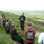 Lecture at devils dyke