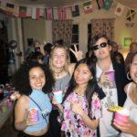 Students at a school social event