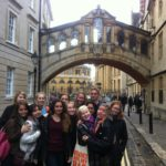 A group on a trip to Oxford