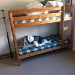 Residential home with bunk bed