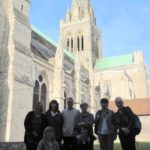 40+ in front of chichester cathedral