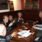 40+ group in a pub