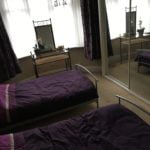 Residential home twin bedroom