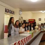 Food hall activity at loxdale