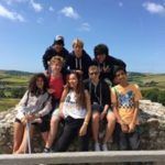 young learners on the south downs in west sussex