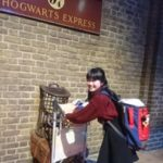 Young learner on a trip to Hogwarts