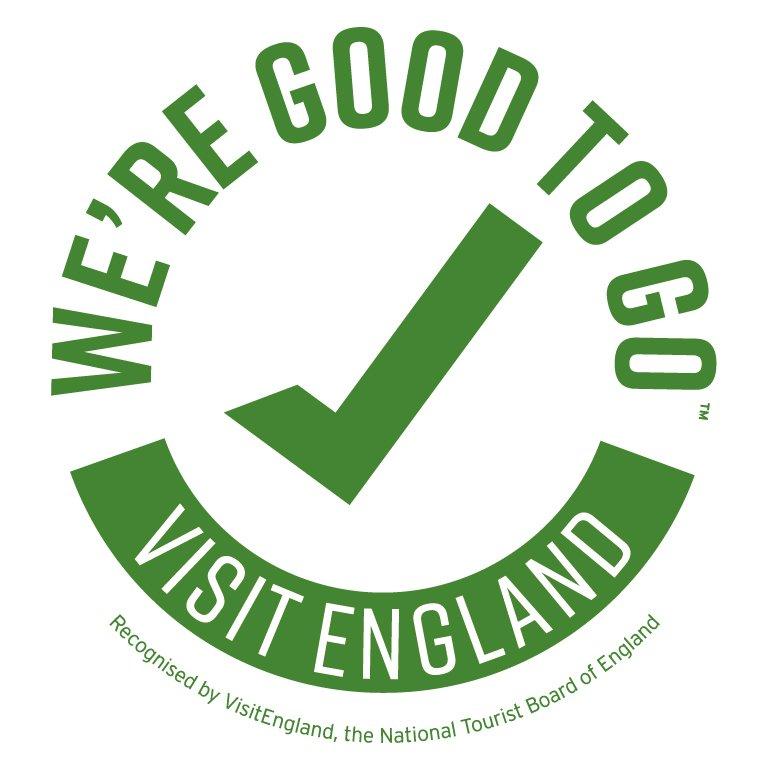 Visit Britain good to go badge